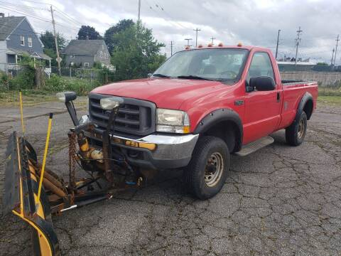 2003 Ford F-250 Super Duty for sale at CALIBER AUTO SALES LLC in Cleveland OH