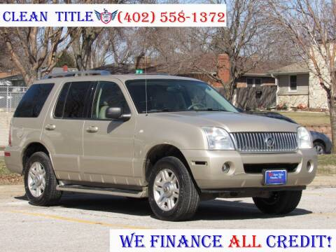 2004 Mercury Mountaineer for sale at NY AUTO SALES in Omaha NE