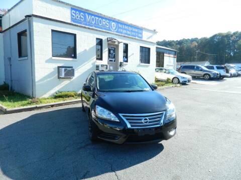 2015 Nissan Sentra for sale at S & S Motors in Marietta GA