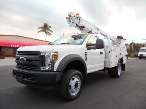2019 Ford F-450 for sale at Town Cars Auto Sales in West Palm Beach FL
