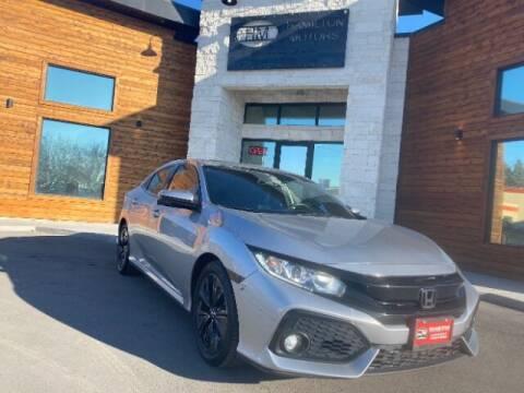 2018 Honda Civic for sale at Hamilton Motors in Lehi UT
