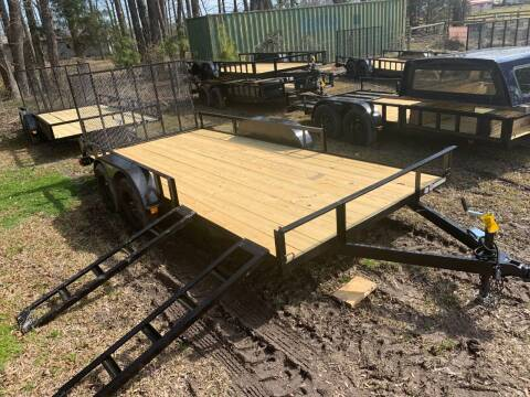 2021 New Triple Crown 7x16 ATV Utility Trailer for sale at Tripp Auto & Cycle Sales Inc in Grimesland NC