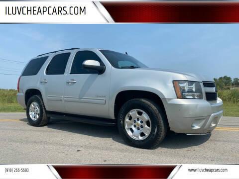 2010 Chevrolet Tahoe for sale at ILUVCHEAPCARS.COM in Tulsa OK