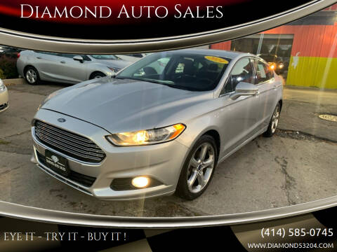 2014 Ford Fusion for sale at Diamond Auto Sales in Milwaukee WI