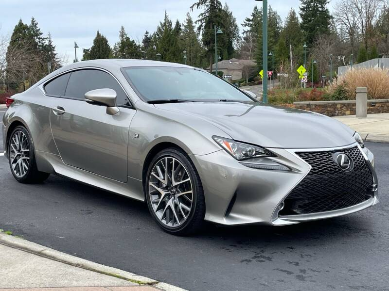 2015 Lexus RC 350 for sale at GO AUTO BROKERS in Bellevue WA