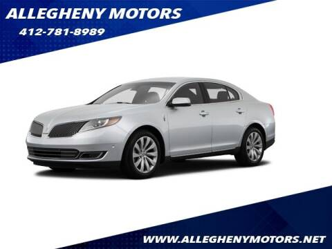 2015 Lincoln MKS for sale at Allegheny Motors in Pittsburgh PA
