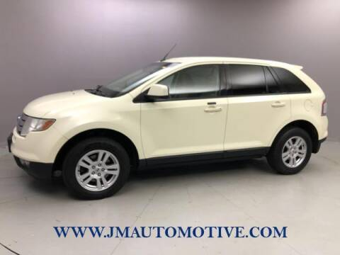2007 Ford Edge for sale at J & M Automotive in Naugatuck CT