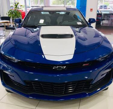 2020 Chevrolet Camaro for sale at Suncoast Sports Cars and Exotics in West Palm Beach FL