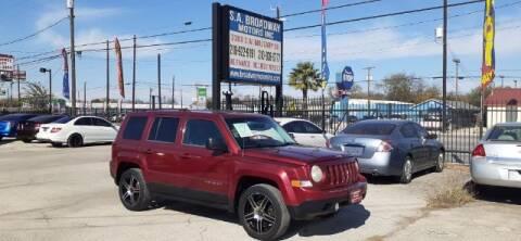 2012 Jeep Patriot for sale at S.A. BROADWAY MOTORS INC in San Antonio TX