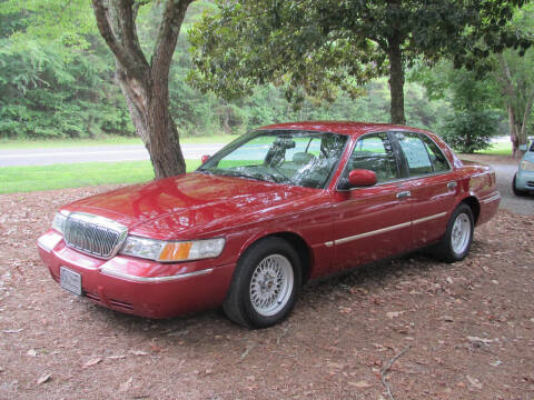 2000 Mercury Grand Marquis for sale at White Cross Auto Sales in Chapel Hill NC