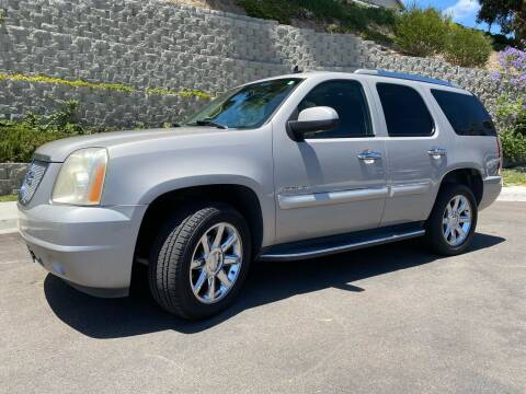 2008 GMC Yukon for sale at CALIFORNIA AUTO GROUP in San Diego CA