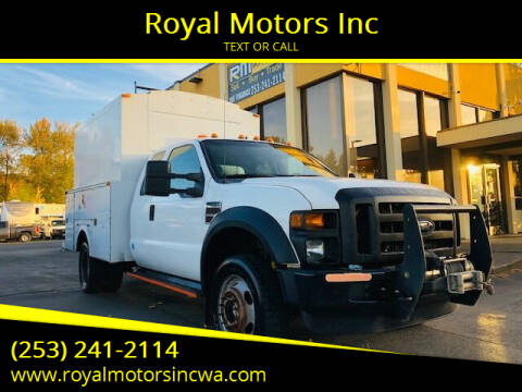 2009 Ford F-450 Super Duty for sale at Royal Motors Inc in Kent WA