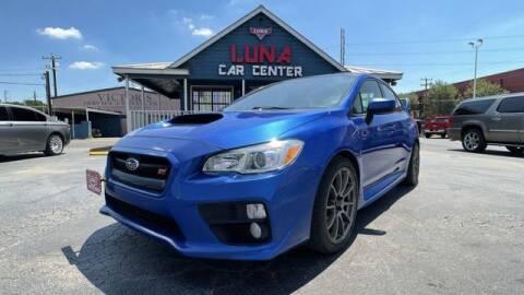 2015 Subaru WRX for sale at LUNA CAR CENTER in San Antonio TX
