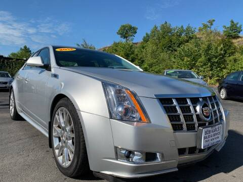 2012 Cadillac CTS for sale at Bob Karl's Sales & Service in Troy NY