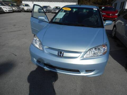 2005 Honda Civic for sale at Elite Motors in Knoxville TN