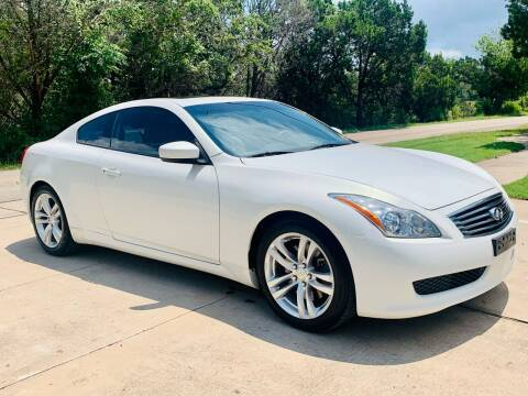 2010 Infiniti G37 Coupe for sale at Luxury Motorsports in Austin TX