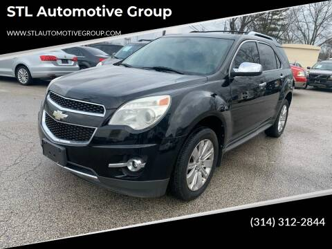 2011 Chevrolet Equinox for sale at STL Automotive Group in O'Fallon MO