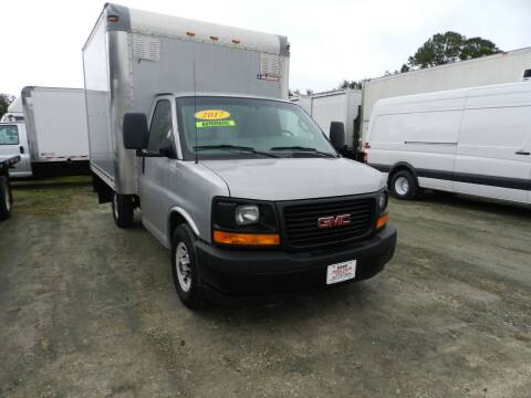 2017 GMC 3500 PARCEL VAN for sale at DEBARY TRUCK SALES in Sanford FL