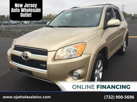 2010 Toyota RAV4 for sale at New Jersey Auto Wholesale Outlet in Union Beach NJ
