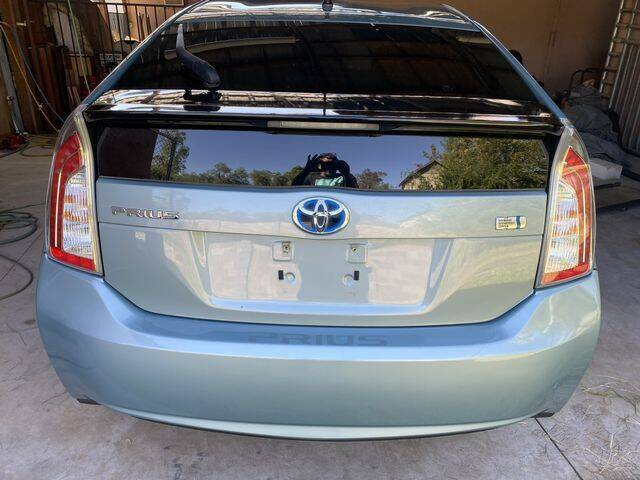 2012 Toyota Prius for sale at ALMOST NEW AUTO RENTALS & SALES in Mesa AZ