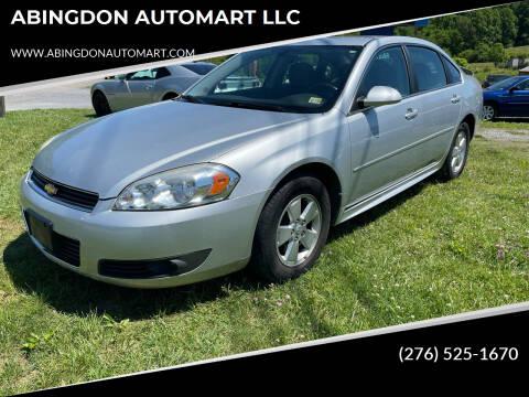 2011 Chevrolet Impala for sale at ABINGDON AUTOMART LLC in Abingdon VA