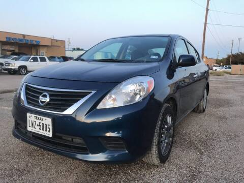 2014 Nissan Versa for sale at BJ International Auto LLC in Dallas TX