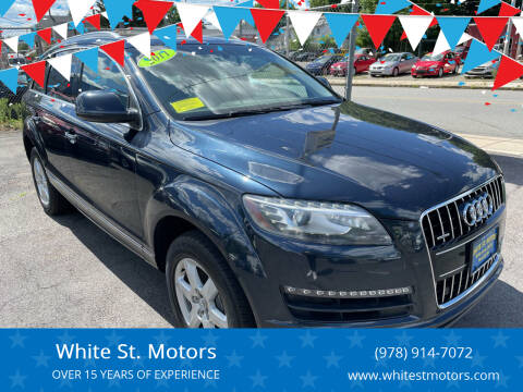 2011 Audi Q7 for sale at White St. Motors in Haverhill MA