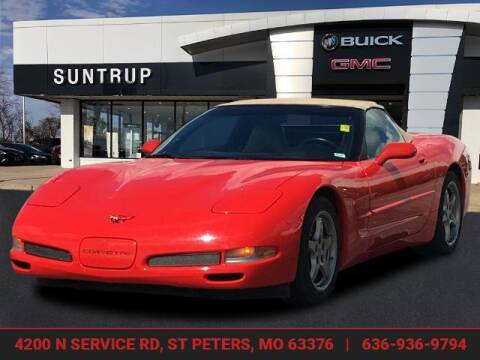 2000 Chevrolet Corvette for sale at SUNTRUP BUICK GMC in Saint Peters MO