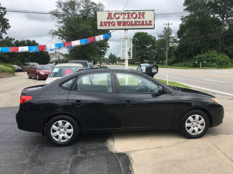 2007 Hyundai Elantra for sale at Action Auto Wholesale in Painesville OH