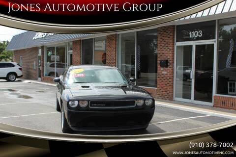 2012 Dodge Challenger for sale at Jones Automotive Group in Jacksonville NC