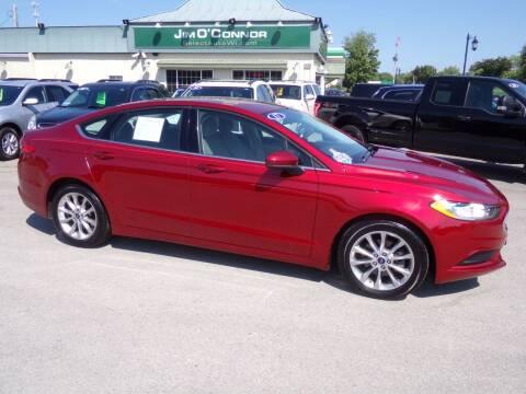 2017 Ford Fusion for sale at Jim O'Connor Select Auto in Oconomowoc WI