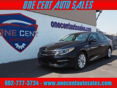 2016 Kia Optima for sale at One Cent Auto Sales in Glendale AZ