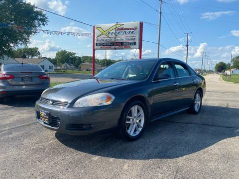 2011 Chevrolet Impala for sale at DiGiovanni's Xtreme Auto & Cycle Sales in Machesney Park IL