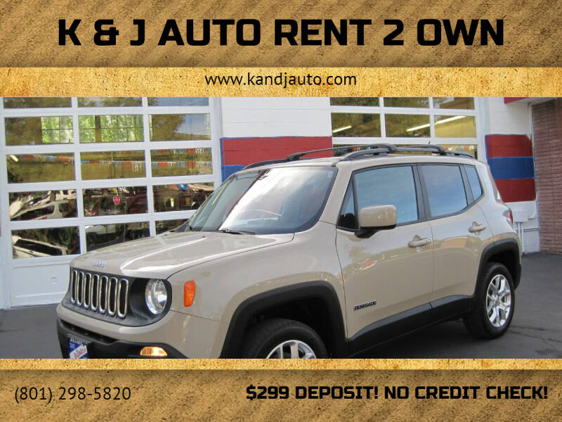 2016 Jeep Renegade for sale at K & J Auto Rent 2 Own in Bountiful UT