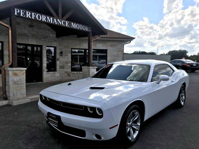 2017 Dodge Challenger for sale at Performance Motors Killeen Second Chance in Killeen TX
