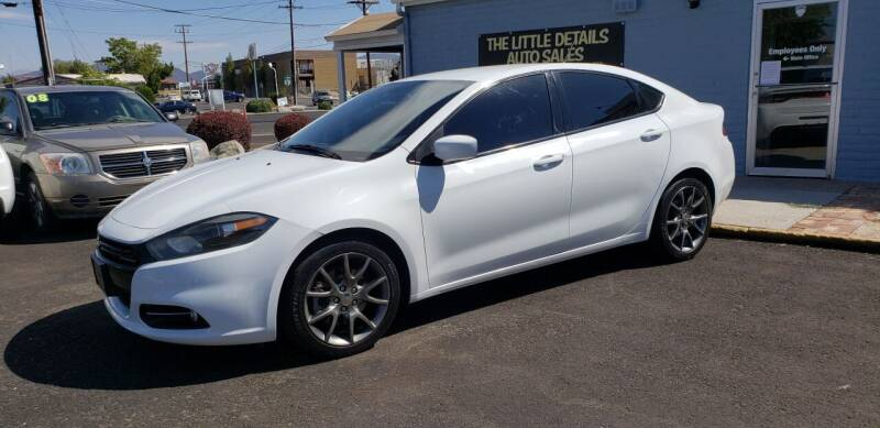 2015 Dodge Dart for sale at The Little Details Auto Sales in Reno NV