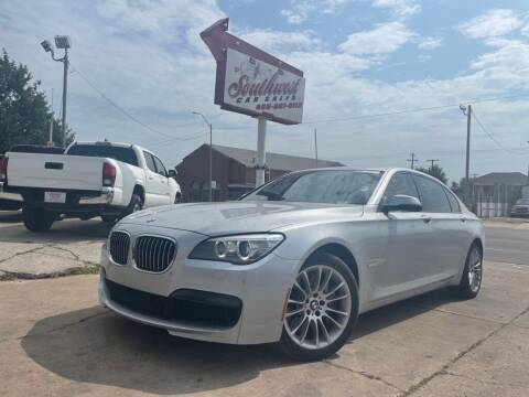 2014 BMW 7 Series for sale at Southwest Car Sales in Oklahoma City OK