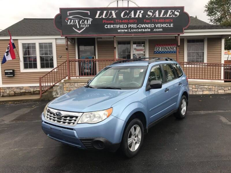 2011 Subaru Forester for sale at Lux Car Sales in South Easton MA