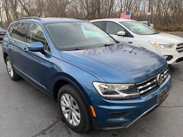 2018 Volkswagen Tiguan for sale at Lighthouse Auto Sales in Holland MI