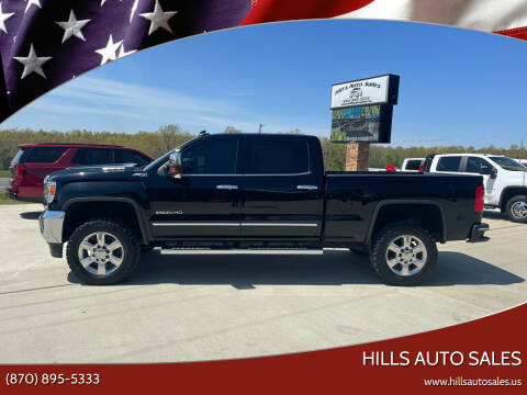 2018 GMC Sierra 2500HD for sale at Hills Auto Sales in Salem AR