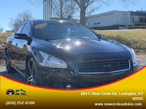 2011 Nissan Maxima for sale at New Circle Auto Sales LLC in Lexington KY