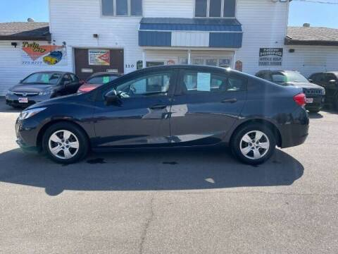 2016 Chevrolet Cruze for sale at Twin City Motors in Grand Forks ND