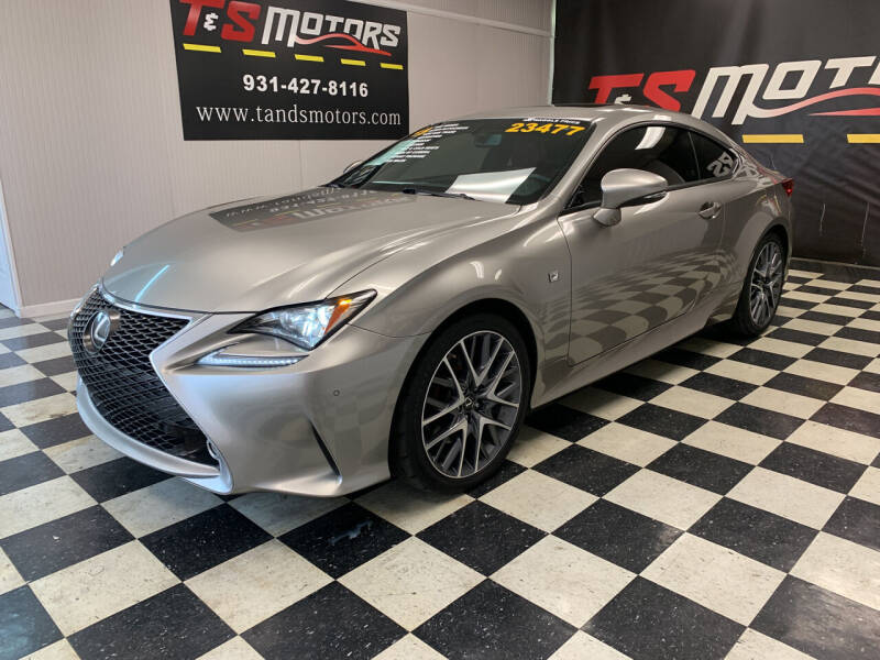 2015 Lexus RC 350 for sale at T & S Motors in Ardmore TN