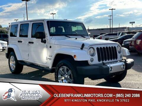 2017 Jeep Wrangler Unlimited for sale at Ole Ben Franklin Motors Clinton Highway in Knoxville TN