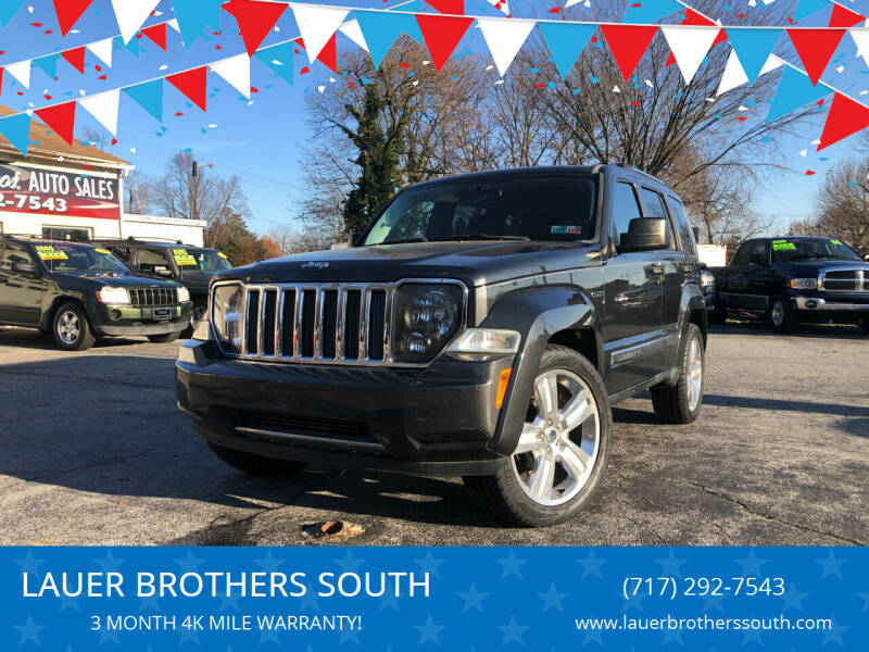 2011 Jeep Liberty for sale at LAUER BROTHERS SOUTH in York PA