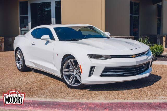 2017 Chevrolet Camaro for sale at Mcandrew Motors in Arlington TX