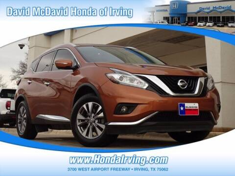 2015 Nissan Murano for sale at DAVID McDAVID HONDA OF IRVING in Irving TX