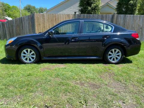 2011 Subaru Legacy for sale at ALL Motor Cars LTD in Tillson NY