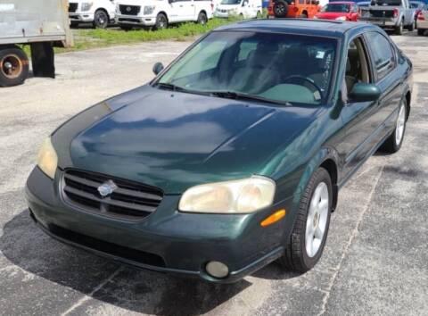 2000 Nissan Maxima for sale at Cobalt Cars in Atlanta GA