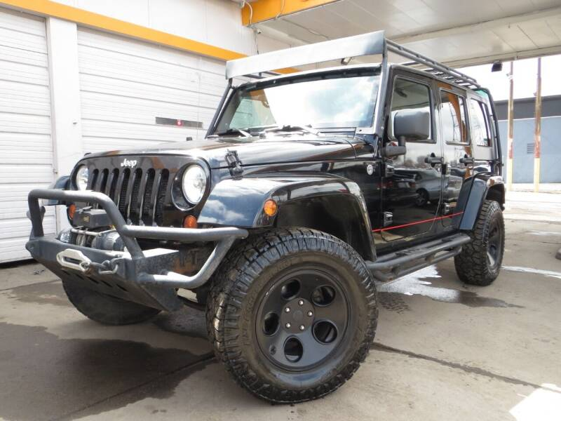 2012 Jeep Wrangler Unlimited for sale at PR1ME Auto Sales in Denver CO